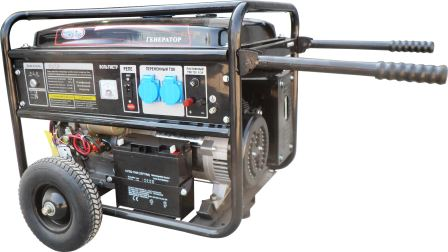 Купить Генератор бензиновый «Vodotok»  БГ 5кВт ЭС (с электростартером) в Краснодаре по низким ценам в интернет-магазине ВОДОТОК
