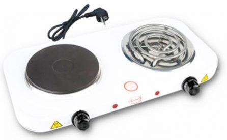 Купить Плита электрическая «Умница» ПЭ 2СБ (2 комбинированные конфорки) в Краснодаре по низким ценам в интернет-магазине ВОДОТОК