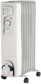 Купить Масляный радиатор «Умница» ОМ 7с. 1 |5кВт | 7 секций без вентилятора | серый цвет в Краснодаре по низким ценам в интернет-магазине ВОДОТОК