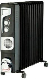 Купить Масляный радиатор «Умница» ОМВ 13с. 2 |9кВт | 13 секций с вентилятором | серый цвет в Краснодаре по низким ценам в интернет-магазине ВОДОТОК