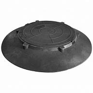 Купить Конусный переход с крышкой для колодца 1060 * 120 мм (черный) в Краснодаре по низким ценам в интернет-магазине ВОДОТОК