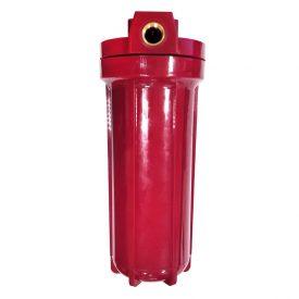 Купить Фильтрация: Колба «ITA» Slim 09 1/2″ (для горячей воды   непрозрачная   красная) в Краснодаре по низким ценам в интернет-магазине ВОДОТОК