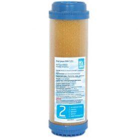 Купить Фильтрация: Картридж «ITA» Slim RUN C (ионно обменная смола   прозрачная колба) в Краснодаре по низким ценам в интернет-магазине ВОДОТОК